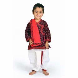 Jaipuri Design Kids Dhoti Kurta   Angrakha 207A
