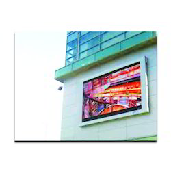 Square, Rectangle Aluminum, Stainless Steel Billboard LED Display