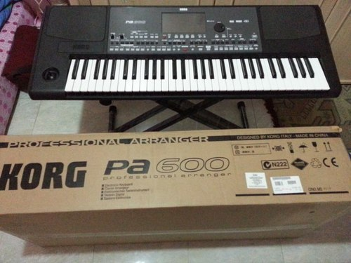 Korg Pa 600 at Rs 50000 /piece | Musical Keyboard | ID: 14847329388