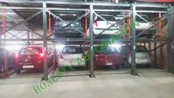 Automatic Underground Puzzle Car Parking System
