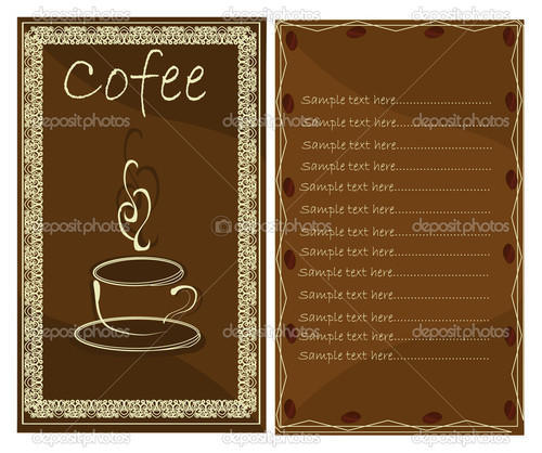 Menu Card  Restaurant Menu Card Manufacturer From Mumbai