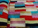 Patchwork Printed Kantha Quilt