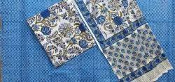 Hand Block Printed Cotton Unstained Suits