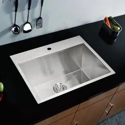 Single Ready To Mount Kitchen Sink, Size: 30*24