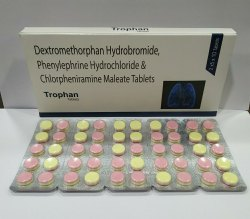Dextromethorphan Hydrobromide 10mg Phenylephrine Hydrochloride 5mg Chlorpheniramine Maleate 2mg