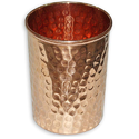 Cylindrical Straight Copper Glass, Capacity: 1.5 L