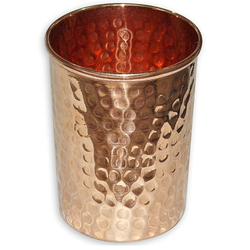 Straight Copper Glass
