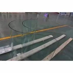 Transparent Curve Bending Toughened Glass, Thickness: 8-25 mm