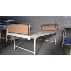 Low Beds Stainless Steel Hospital Ward Plain Bed Patient Bed, 250 Mm, 450 Mm