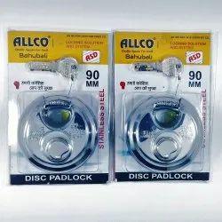 Allco 90mm Stainless Steel Combo Set Disc Lock