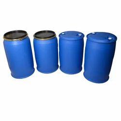 Blue Plastic Mitsu Chem 200 Ltrs HDPE Drum, For Chemical Storage