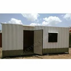 Color Coated MS Portable Cabin