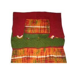 Cotton Unstitched Ladies Ethnic Suit