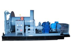 25 Ton Electric Wire Rope Winch Machine