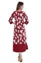 Beautiful Designer Hand Print Cotton Kurti
