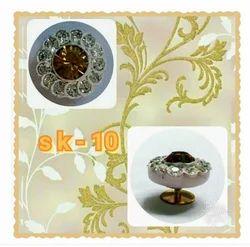 White Round Lakh Kurta Button, Packaging Type: Box