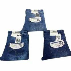 Mens Denim Knitted Jeans
