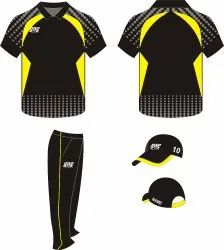 Printed Polyester Cricket Jersey