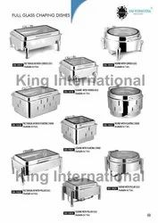 STAINLESS STEEL ITEMS CHAFING DISH