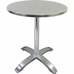 MD Mirror Finish Stainless Steel Round Table, Size: 30*30 Inch, Size (Feet): 30 Inch Dia