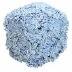 Handmade High Quality Wool and Cotton Pouf Indian Pouf Manufacturers from india