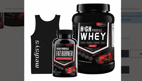High Profile Whey Advanced Lean Muscle Combo