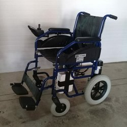 Rear Wheel Drive Powered Wheelchair With Lithium Ion Battery