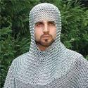 Chainmail Coif Helmet