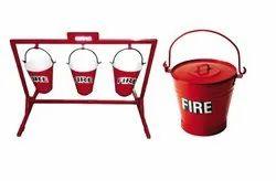 ISI Mark Certification for Galvanized Mild Steel Fire Bucket
