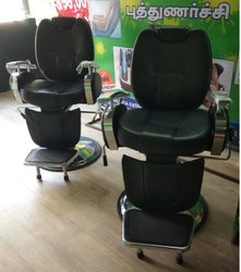 Big Boss Salon Black Chair