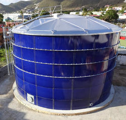 Glass Lined Steel Water Storage Tank