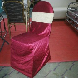 Red SS Banquet Chair