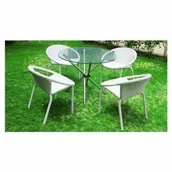 Synthetic Wicker Garden Cafe Dining Set