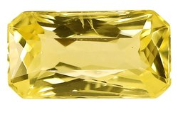 Gem Quality Loupe Clean Unheated Ceylon Yellow Sapphire