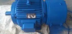 7.5 HP Foot Mounted Brake Motor RPM 1440 Three Phase