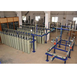 Automated Cylinder Filling Manifold System