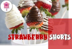Chocolate - Strawberry Shots for Eating, Gifting, Desserts