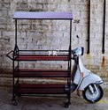 Customized Vintage - Barbeque Food Cart