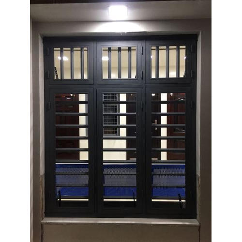 Gi Metal Steel Windows At Rs 490 Square Feet Galvanized