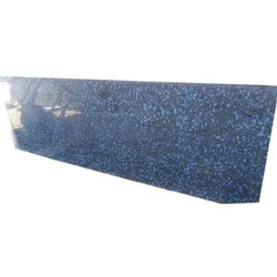 Polished Blue Coin Granite Slab, Thickness: 14mm