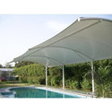 Aluminum Tensile Swimming Pool Shed