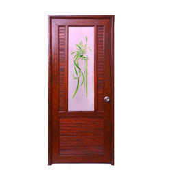 Hinged Polished Decorative PVC Door For Home