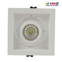 10W LED COB Tilt Square Spotlight