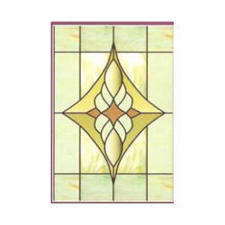 Rectangle Printed Designer Glass