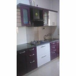Stylish Semi Modular Kitchen
