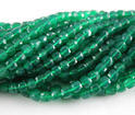 Green Onyx Gemstone Faceted Beads