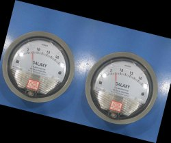 Galaxy Magnehelic Gauge Model G2000-100MM Range 0-100 MM WC