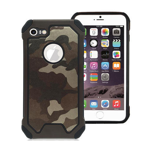 Military Rugged Brown Mobile Cover