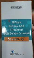 All Trans Retinoic Acid (Tretinoin) Soft Gelatin Capsules