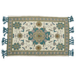 Decorative Ethnic Printed Embroidered Rug